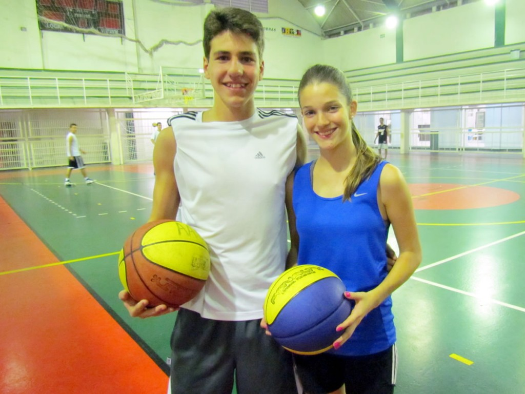 Guilherme e Vitória são os destaques do basquete no ano de 2012