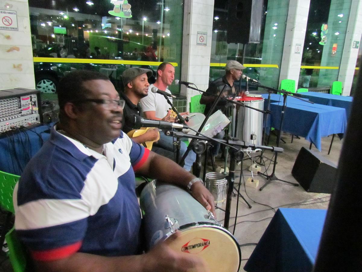 Caldense realizou a Noite do Samba