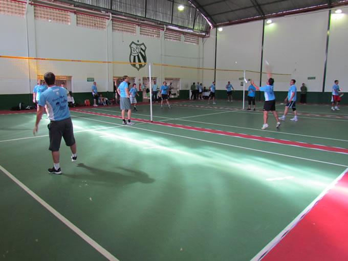 Open Caldense de Peteca reúne os melhores atletas da região.