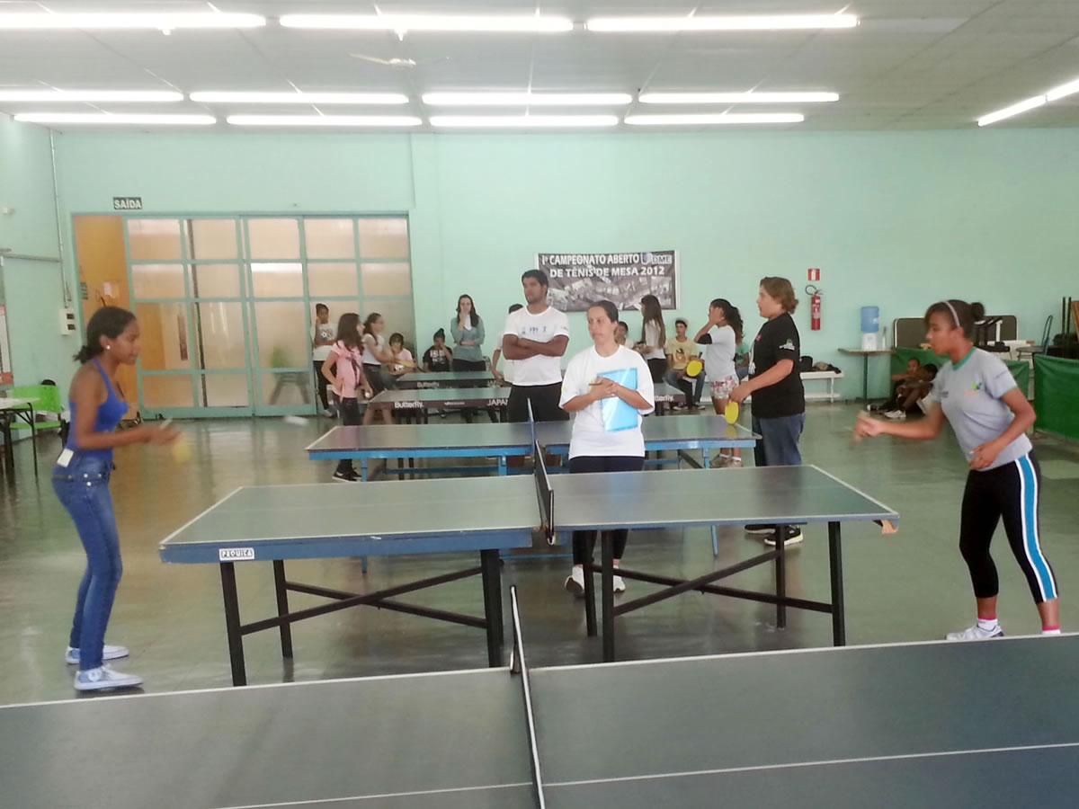 Caldense sedia competições de tênis de mesa das Olimpíadas dos Projetos