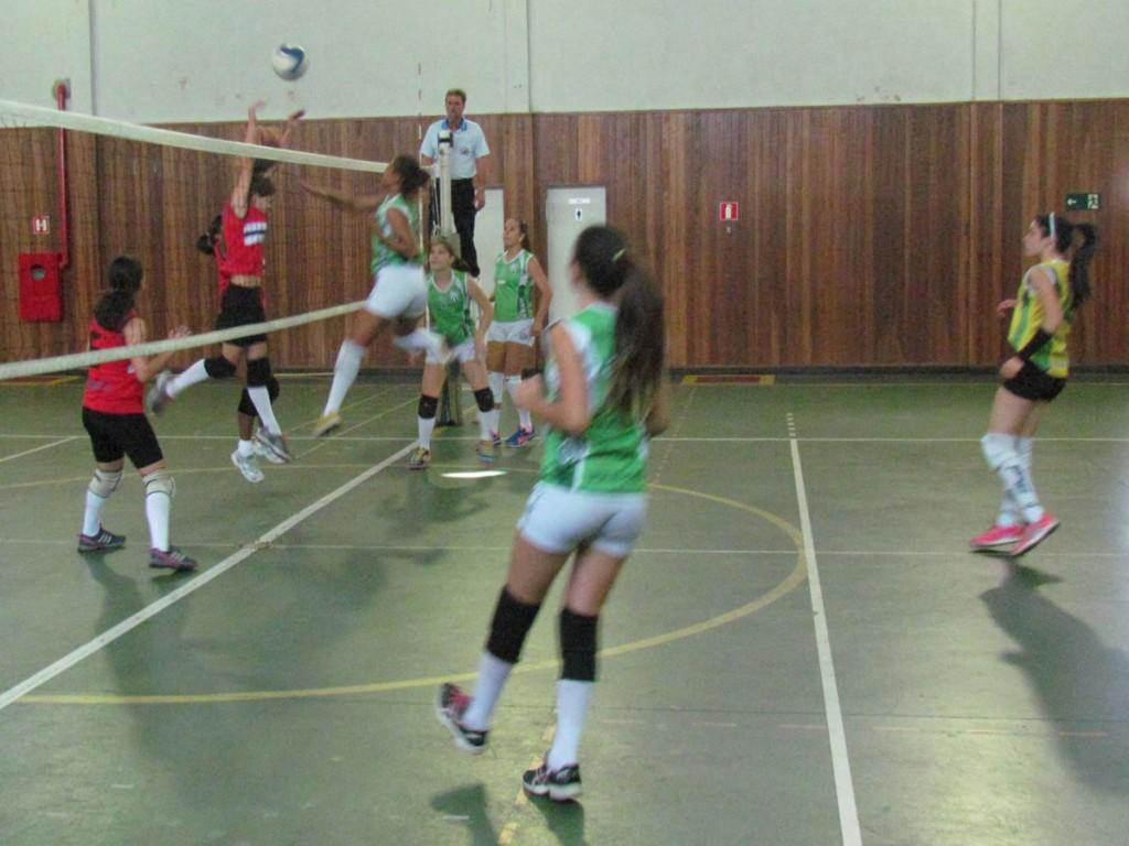 Equipe Infantil de vôlei feminino