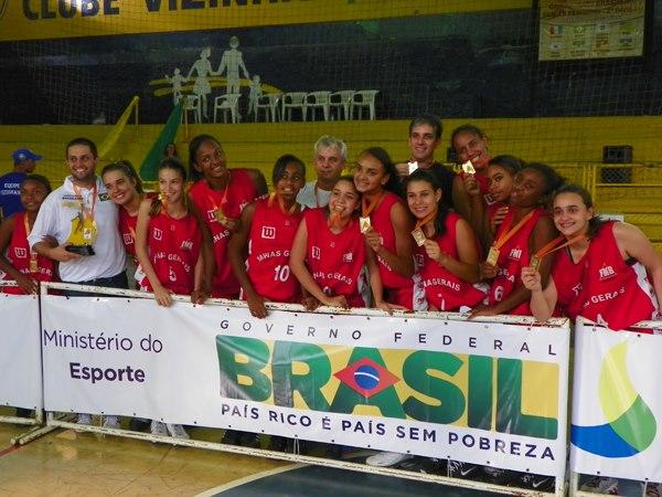 Em 2012, Júlio esteve na Seleção Mineira que conquistou o Módulo II do Campeonato Brasileiro Feminino Sub 15.