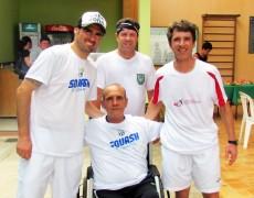Torneio de Squash beneficia entidade assistencial
