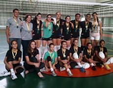 VÔLEI FEMININO – Caldense conquista o bi-campeonato da Liga Sanjoanense
