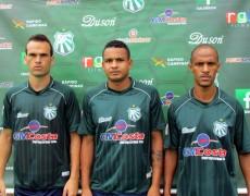 Caldense anuncia três reforços para Copa do Brasil