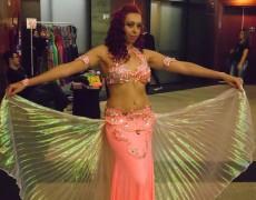 Alunas da Caldense participaram do maior encontro de Dança Árabe  do país
