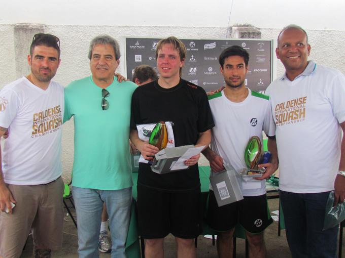 Austríaco leva título do Caldense International Squash Championship