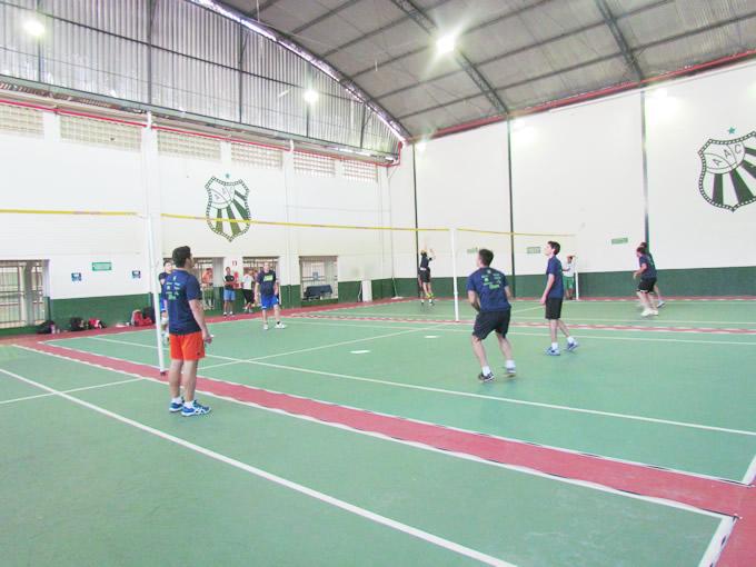 Caldense realiza Torneio Interno de Peteca