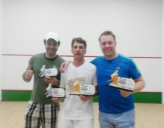 Atletas da Caldense conquistam títulos do Circuito Regional de Squash
