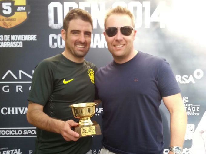 Franco Martins conquista bicampeonato em torneio internacional de squash