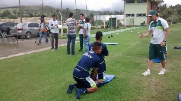 Treinamentos e concentração no Mineiro marcam a semana da Caldense.