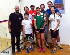 Atletas da Caldense conquistam títulos no Circuito Regional de Squash
