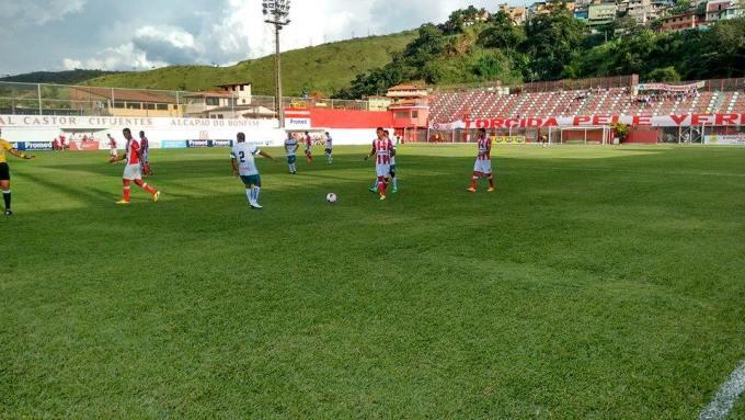 Caldense vence o Villa Nova e termina a primeira fase do Mineiro líder e invicta