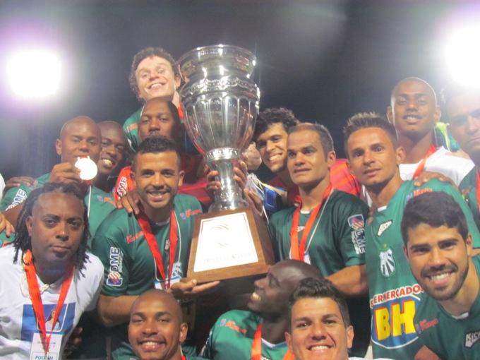 Caldense termina o campeonato mineiro como Campeã do Interior e vice-campeã geral do torneio