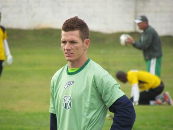 Diogo Lúcio Tavares Pires, conhecido como Marzagão, é o novo volante da equipe