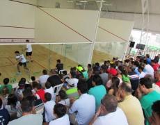 Caldense realiza 1º Open Posto Pampa de Squash