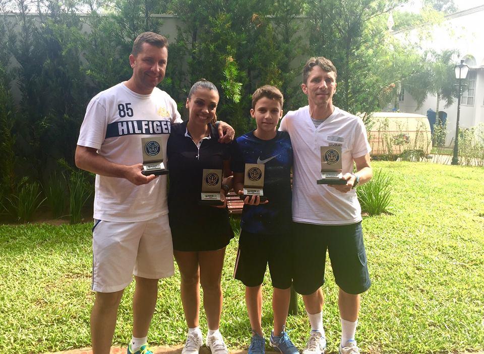 Squash da Caldense é campeão em Campinas