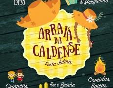 Caldense promove festa julina