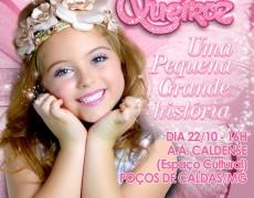 'Carinha de Anjo' se apresentará na Caldense