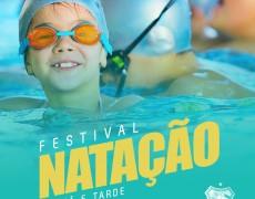 Caldense promove festival de natação