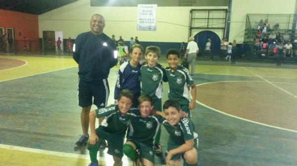 Time de Futsal Sub-11 (Foto: Divulgação)