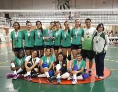 Vôlei infantil feminino da Caldense fica em terceiro lugar na Liga Sanjoanense