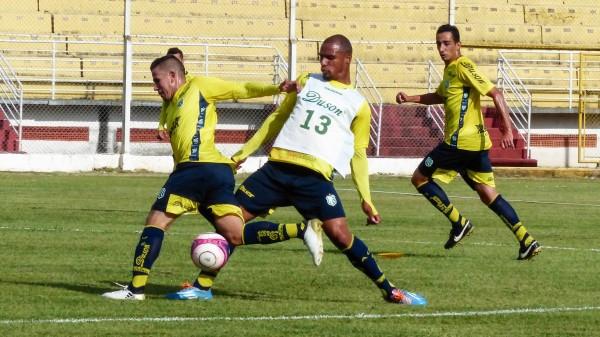 Caldense estreia na Copa do Brasil contra Fluminense (Foto: Renan Muniz / Caldense)