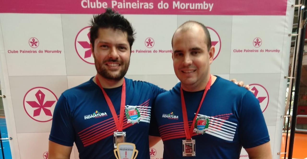 Dupla da Caldense é vice-campeã do Campeonato Paulista de Peteca