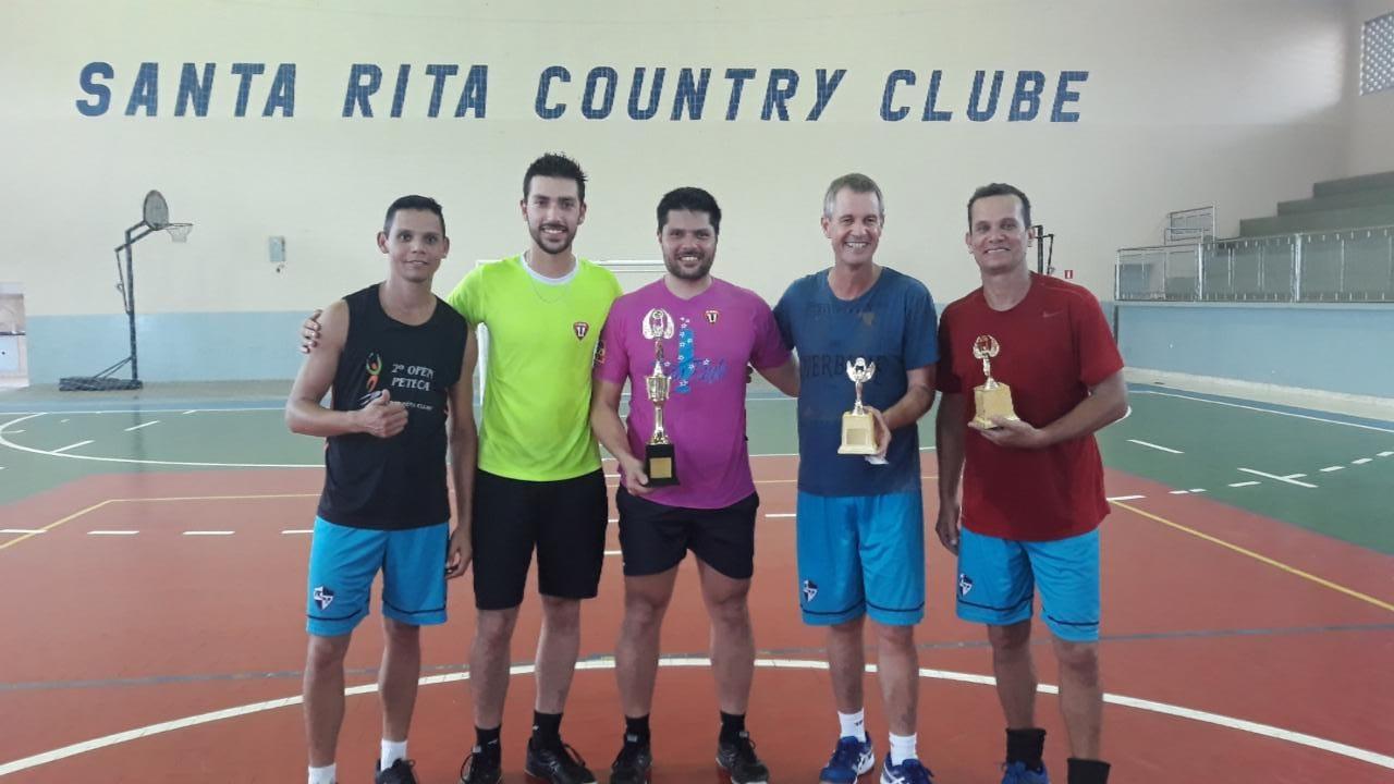 Dupla da Caldense vence torneio de peteca em Santa Rita do Sapucaí