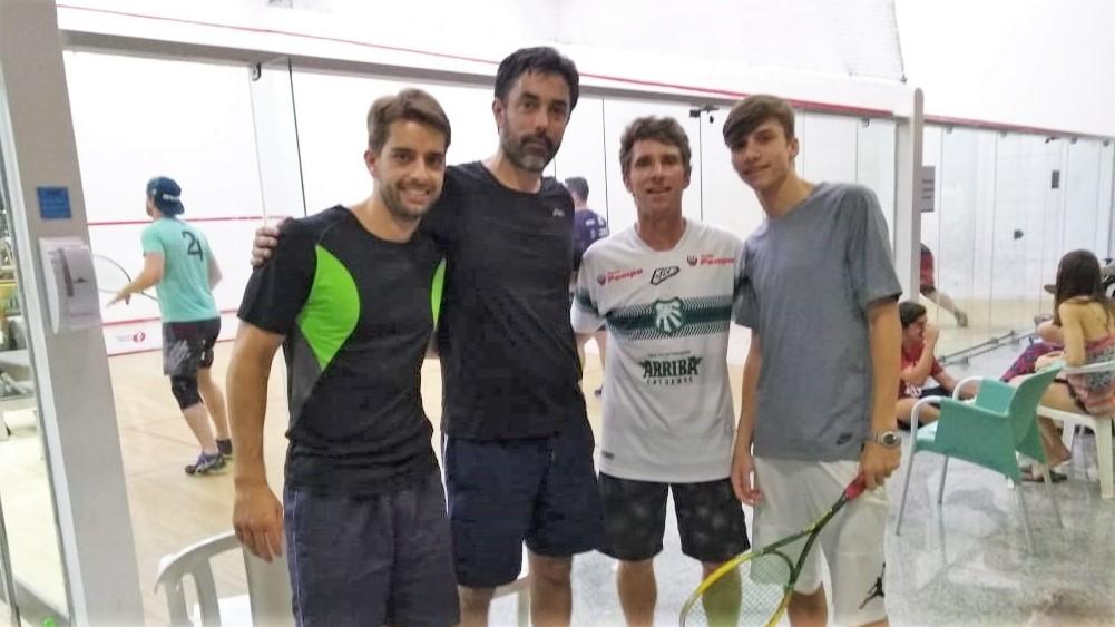Atletas da Caldense se destacam no Open Companhia Athletica de Squash em Campinas