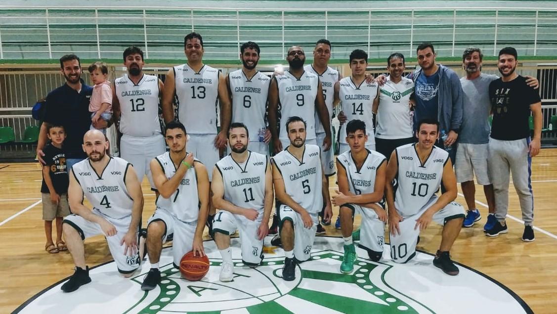 Equipes de basquete Sub-17 e adulta da Caldense vencem pela Lidarp e Copa Difusão, respectivamente