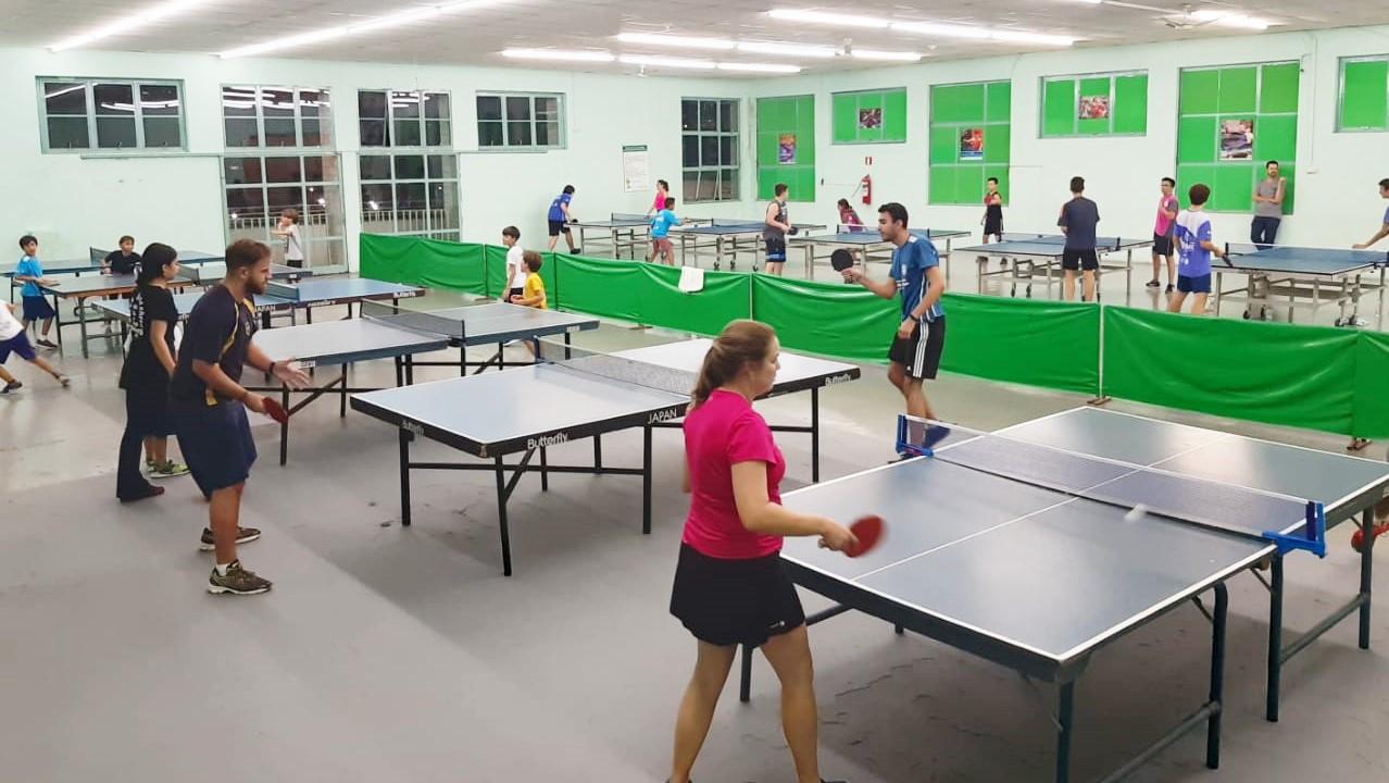 Departamento de Tênis de Mesa da Caldense recebe melhorias e atrai mais alunos