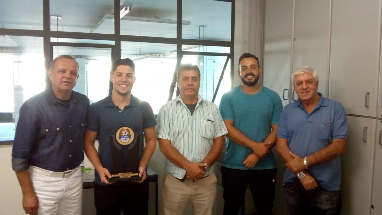 Diretor de Futsal da Caldense comemora bicampeonato da Copa TV Plan