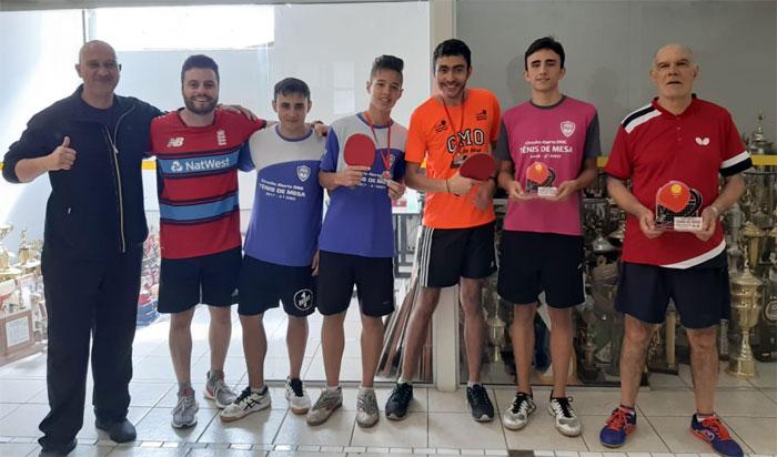 Caldense sedia 1ª Etapa do Circuito de Integração Social Tênis de Mesa de Poços
