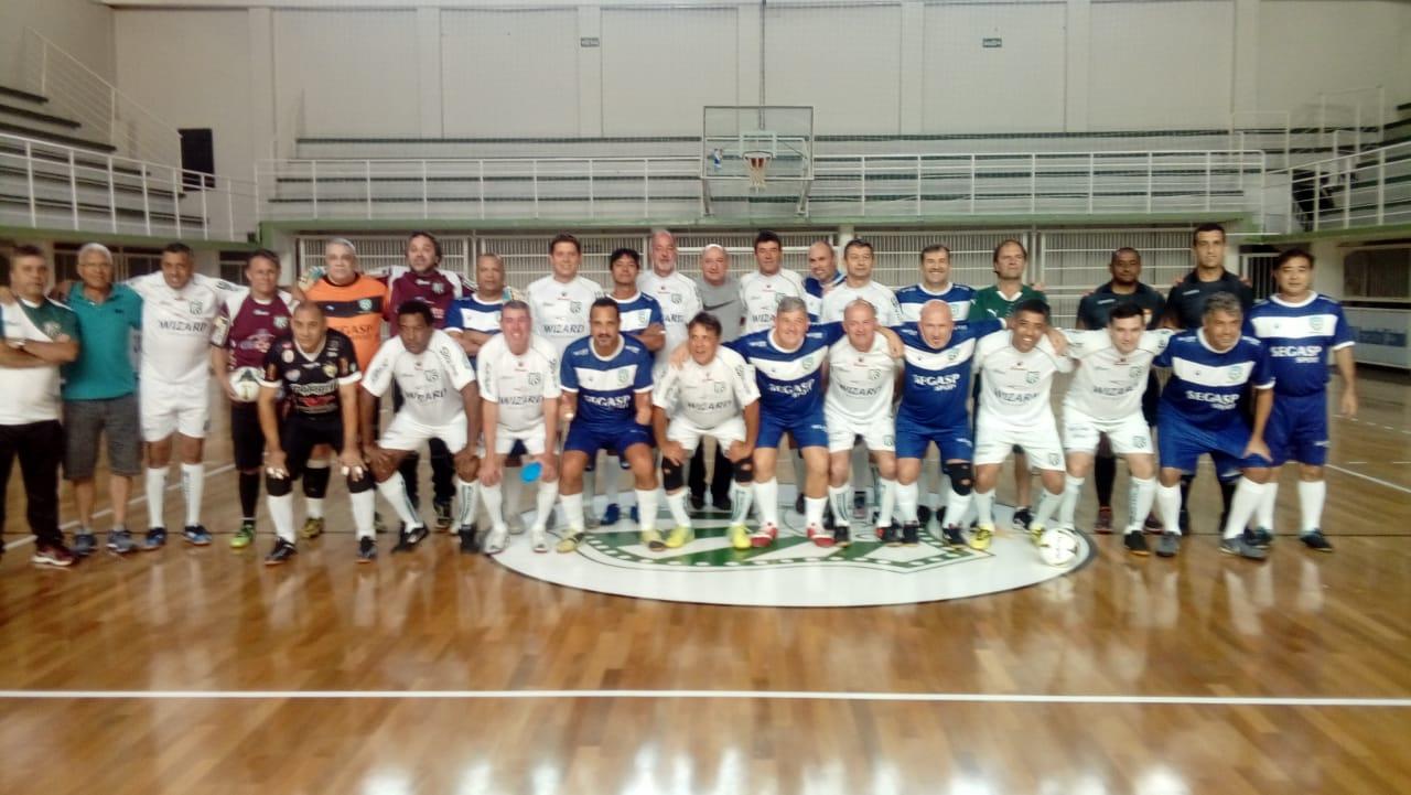 """Futsal da Master da Caldense empata com """"Embaixadores do Futsal"""""""