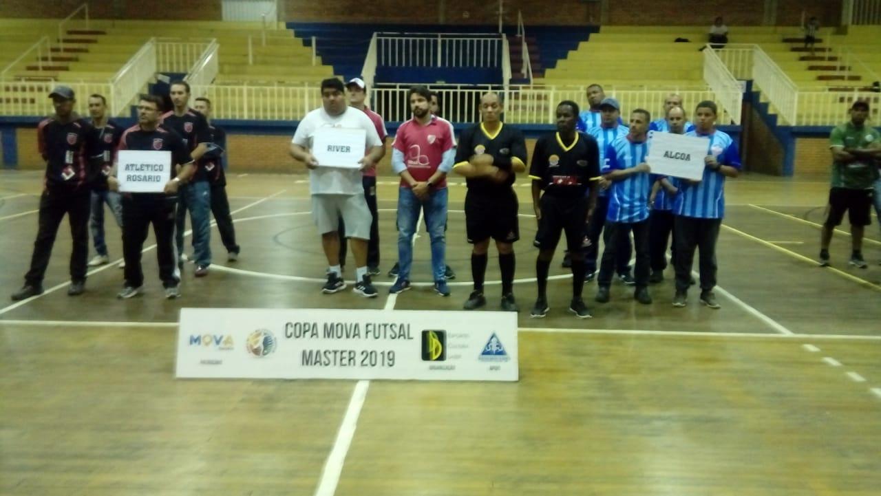 Caldense estreia na Copa Mova de Futsal Master 2019