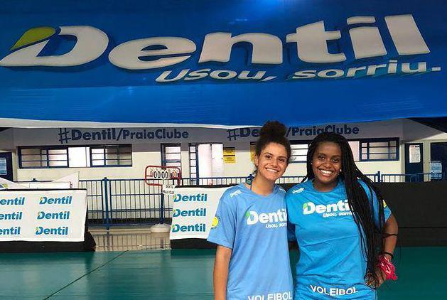 Duas atletas de vôlei da Caldense, Anna Júlia e Maria Fernanda, são selecionadas pelo Praia Clube Uberlândia