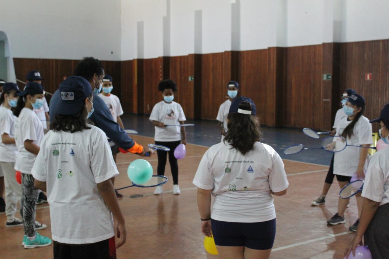 """Caldense sedia apresentação do projeto """"Badminton: Esporte Olímpico"""""""