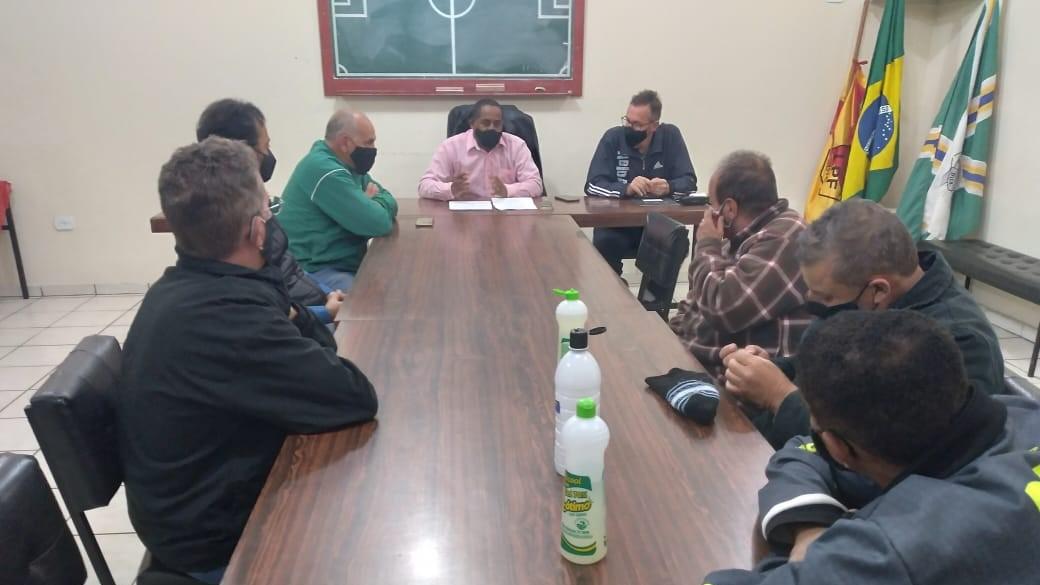 Caldense participa de reunião da Liga Poços-caldense de Futebol