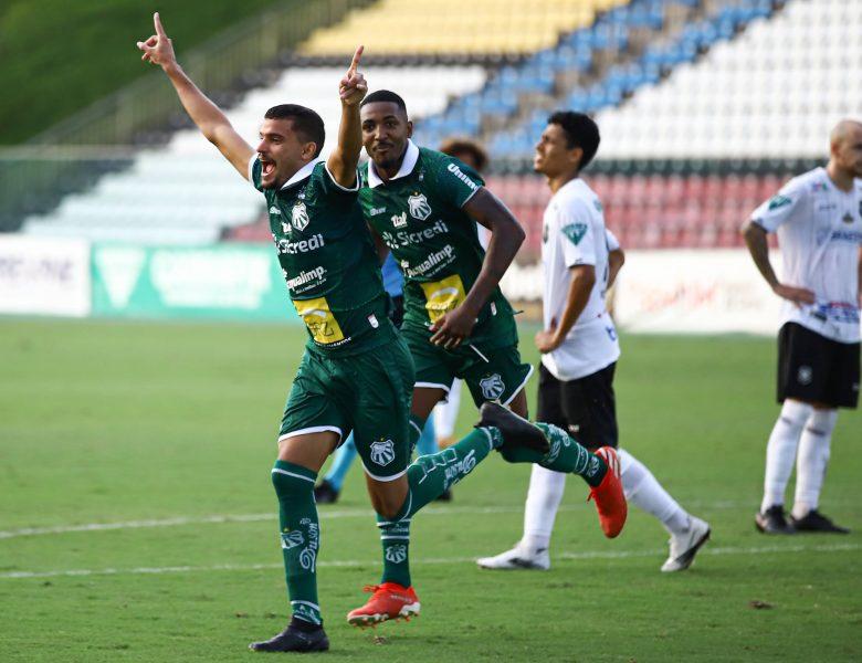 Caldense vence Rio Branco-ES de virada na estreia da Série D