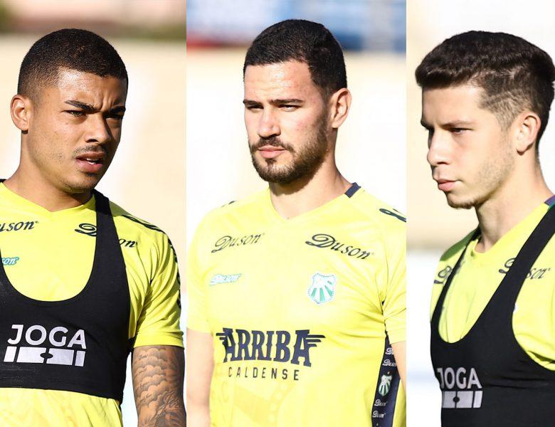 Três meio-campistas chegam para reforçar a Caldense na Série D