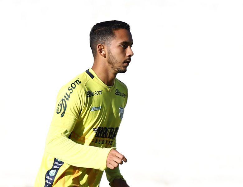 Caldense apresenta reforço Bruno Rafael, atacante que estava no CSA