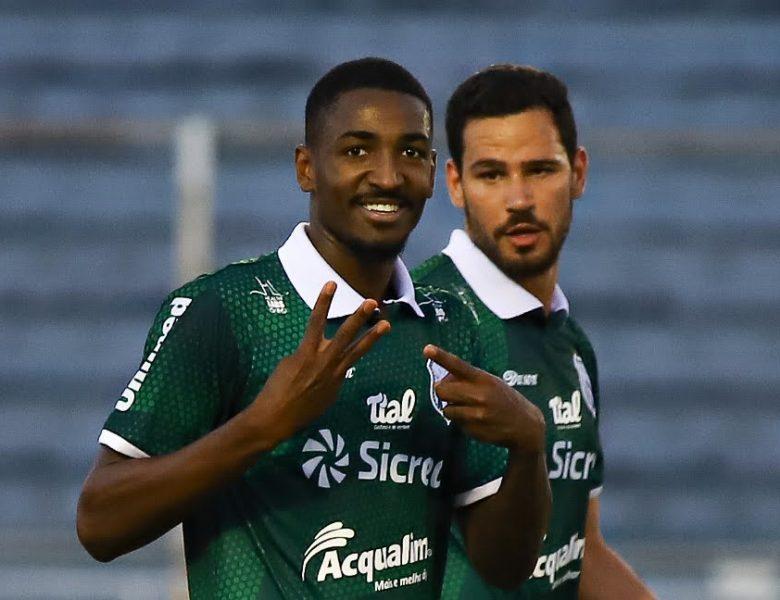 Com direito a hat-trick de Gabriel Santos, Caldense goleia Águia Negra por 6 a 2