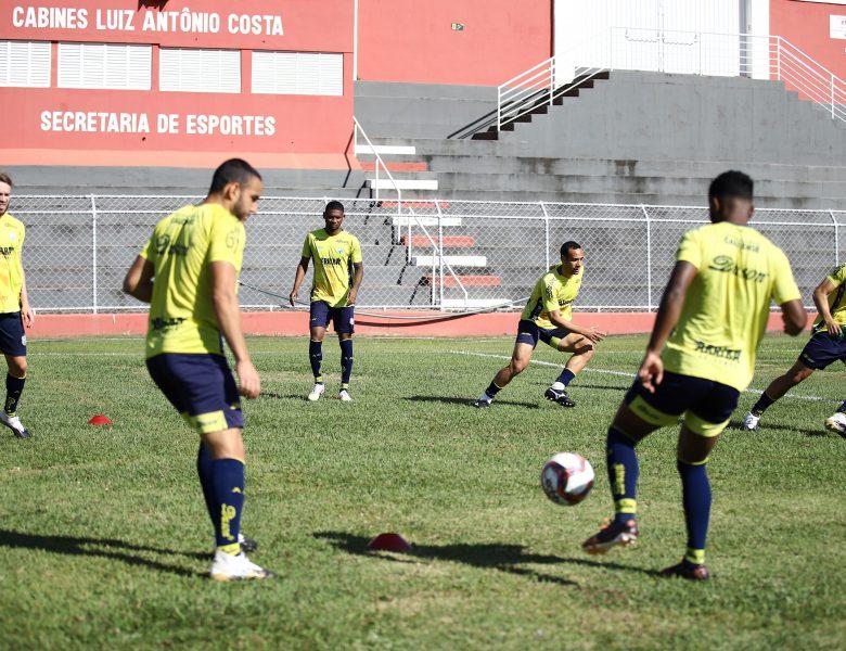 Caldense treina em Patrocínio-MG e fecha preparação para jogo contra o Patrocinense