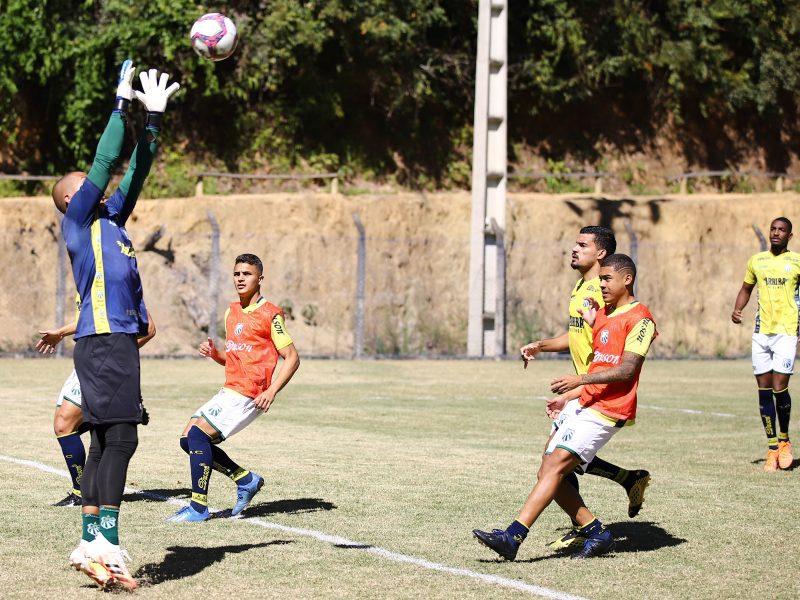 Caldense treina no Espírito Santo e encerra preparação para enfrentar o Rio Branco-VN
