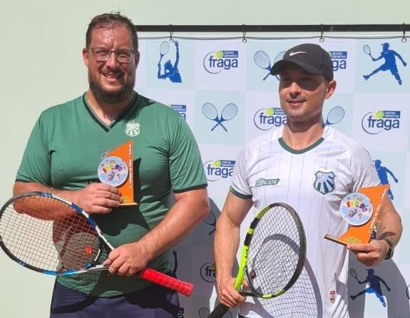 Dupla da Caldense vence torneio de tênis em Andradas e atletas se destacam em Mococa