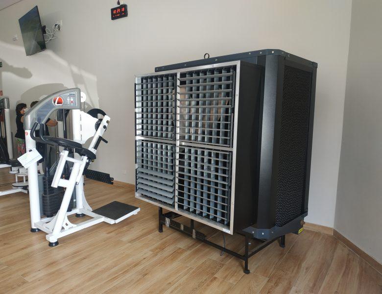 Caldense adquire climatizadores para a sala de musculação
