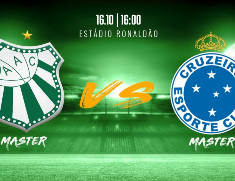 Veteranos da Caldense irão enfrentar Cruzeiro Master dia 16 de outubro no Ronaldão