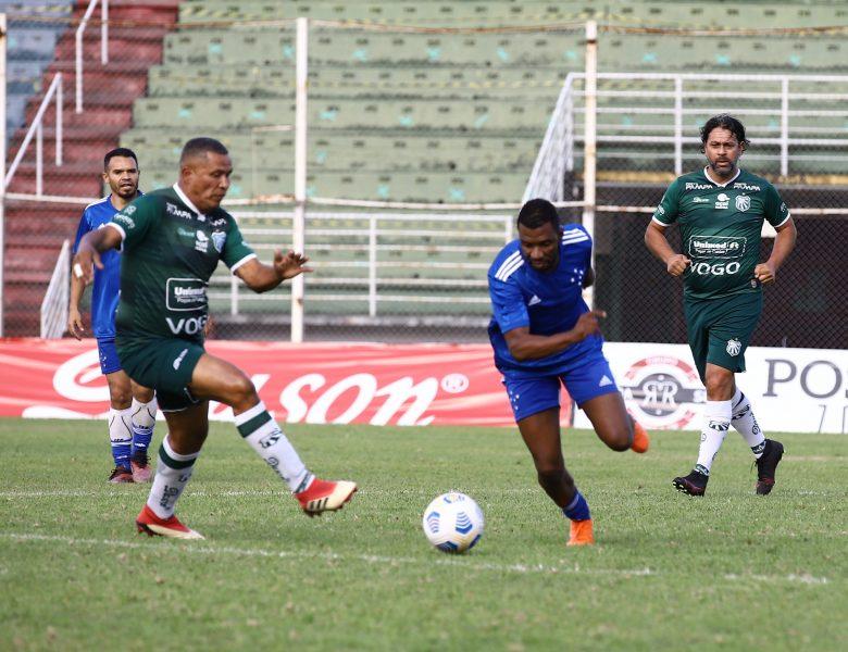 Em jogo emocionante, Veteranos da Caldense empatam com o Cruzeiro Master em 2 a 2