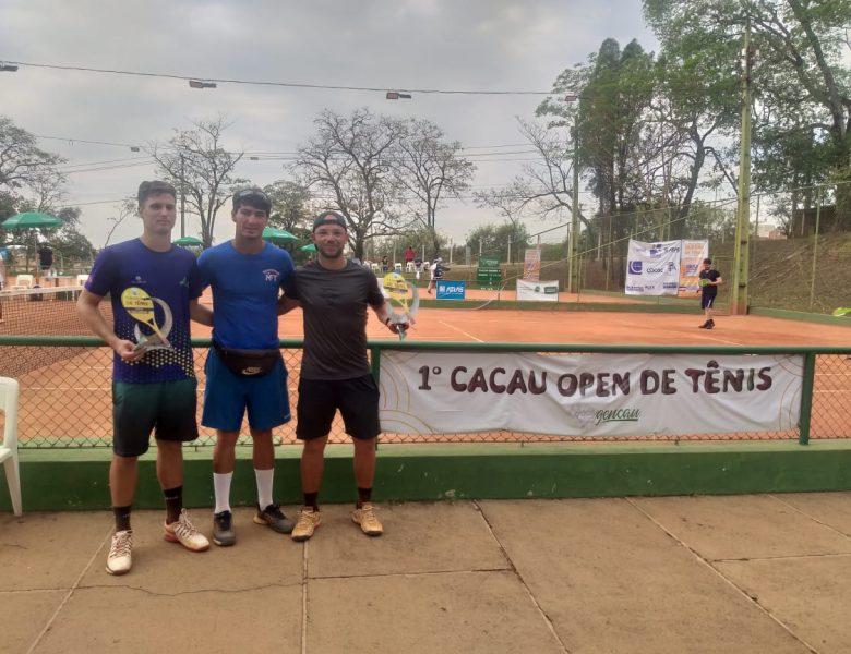 Tenistas da Caldense vencem competições em Tambaú-SP e Aguaí-SP
